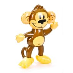 18-inch Inflatable Monkey  (Bulk Pack of 12 Inflatables) at theBIGzoo.com, a family-owned toy store.
