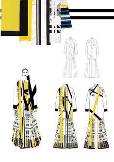 ISSUU - WESTMINSTERFASHION Gina Atkinson portfolio by WESTMINSTERFASHION #fashionsketchbook,