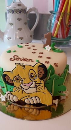 Wonderful Lion King Cake For Sevan. Soutenez-nous dans le développement en franchise de nos salons de thé vintages ! Support us to develop our vintage tearooms ! Facebook : https://www.facebook.com/MissAudreysCupcakes/ Ulule : http://fr.ulule.com/audreys-cupcakes/ Merci :D ! Thank you :D !