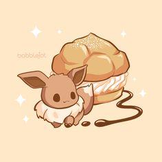 Illustrator Of Cute Things — Eeveelution Dessert Series: Jolteon Lemon. Pokemon Fan Art, Fotos Do Pokemon, Pokemon Comics, My Pokemon, Cute Animal Drawings, Kawaii Drawings, Cute Drawings, Kawaii Anime, Kawaii Art