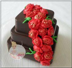 Adorei este mini bolo.