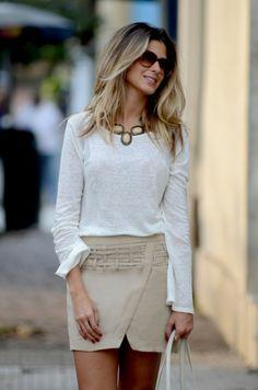 Anna Fasano Women´s Fashion  Style Outfit Look - Moda Feminina Estilo Inspiração