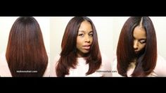 Watch how Mo Knows Hair does the most gorgeous silk roller wrap on her natural hair