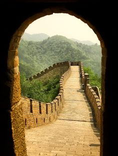 The Great Wall of China. #greatwallofchina just the Great Wall. There is nothing else here for me.