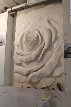 Одноклассники Plaster Crafts, Plaster Art, Plaster Walls, Sculpture Painting, Wall Sculptures, Mural Art, Wall Murals, Art Decor, Decoration