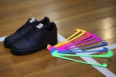 0545963a506cd5 Nike Air Force 1 Velcro Swoosh footwear black white yellow red purple blue  green Nike Air