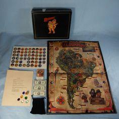 Eldorado Board Game Complete 1990 Arasai Overseas Ltd Pre-Owned but Un-played!!! #Eldorado