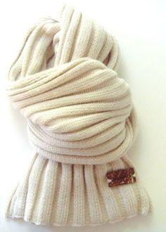 winter white warm scarves