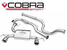Echappement COBRA CORSA OPC Nurburgring 10-13 Turbo Back (Decat Resonated)