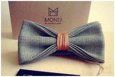 Green Men's Bow Tie -FREE SHIPPING- Bowtie with Spanish Genuine Leather - Handmade Bowtie - Luxury Handmade Mens Gift - Pre-Tied - Vintage by MonejBowTies on Etsy https://www.etsy.com/listing/236916115/green-mens-bow-tie-free-shipping-bowtie