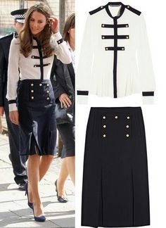 Kate Middleton's sailor style outfit is perfection!