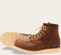 4296c21e2546 The 8880 is a Moc Toe featuring Bourbon Yuma leather