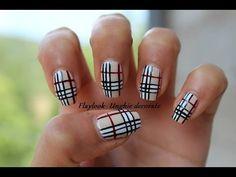 nail art - stile burberry  #nailartcomunity  #nailartcommunities