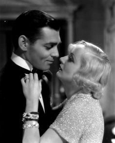 Clark Gable and Carole Lombard in No Man of Her Own (1932), the only film in which they co-starred.
