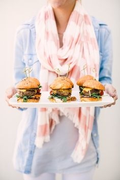 Mini sliders | photo Taylor Lord | Camille Styles