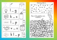 Teaching Resources for South African Teachers Grade R Worksheets, Phonics Worksheets, Worksheets For Kids, Gifted Education, Kids Education, School Resources, Teaching Resources, Afrikaans Language, Handwriting Practice Sheets