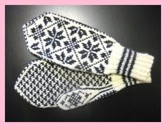 Knitted Mittens Pattern, Knit Mittens, Knitted Gloves, Baby Knitting Patterns, Knitting Designs, Stitch Patterns, Knitting Blogs, Knitting For Beginners, Knitting Stitches