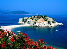 Sveti Stefan Montenegro Former Yugoslavia Island Paradise - HQ Wallpapers Water Images, Nature Hd, Montenegro, Dubrovnik, Beautiful Islands, Summer Sun, Amazing Destinations, Aerial View, Solo Travel