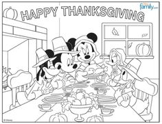 free printable thanksgiving coloring pages for kids pinterest