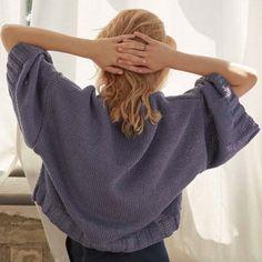 Strick-Kits aus dem Shop Meine fabelhafte Welt. Stricken muss nicht schwierig sein. Raglan Pullover, Shirts, Fashion, Scarves, Jackets, Summer Knitting, Sweater Cardigan, Cotton, Nice Asses