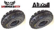 $409.95 ARace-Carbon-Fiber-Beadlock-Wheel-and-Tire-Kit-10-TRX-450R-250R-LTR-KFX-Z400