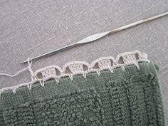 "Miss Abigail's Hope Chest: ""Garden Series"" Crochet Edgings: #3-Jonquils"