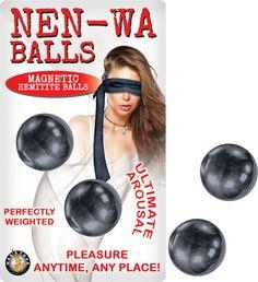 Nen-Wa Balls Magnetic Hemitite Balls - Graphite Funtimes209