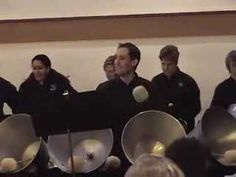 I went to this concert in Kent, Washington, for a professional handbell choir.  I was surprised how non-traditional they were. Check out the size of the big bells!!  They're HUGE! Check them out at bellsofthesound dot org
