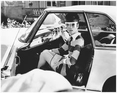 Audrey Hepburn on the set of 22two for the road 22 - 1967