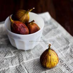 Figs food photography kitchen wall art print by FlaviaMorlachetti