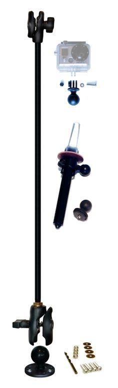 "Radpole® 31"" Expedition Kit with GoPro® Hero Adaptor | Kayalu Gear"