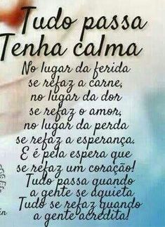Mensagem Linda para você Portuguese Quotes, Improve Yourself, Reflection, Stress, Wisdom, Positivity, Lettering, Thoughts, Humor