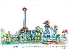planta en el forum | Barcelona, por Juan Carlos Figuera