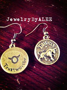 Taurus  on Etsy, $10.00
