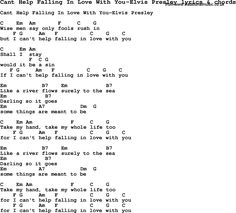 help lyrics | Love Lyrics for Cant Help Falling In Love With You-Elvis Presley with ...
