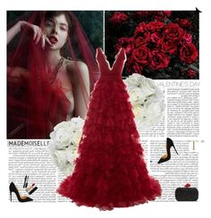 """""""Untitled #2585"""" by helena99 ❤ liked on Polyvore featuring Rosanna, Diane James, Marchesa, Christian Louboutin, Diane Von Furstenberg, Lancôme, Chanel, women's clothing, women and female"""
