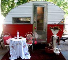 1964 Little Gem Bugg Rare Vintage Little Gem Bugg Travel Trailer Camper by linfirefly