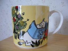 """Muumimuki """"Water mug"""" -sarja (keltainen) Yamaka Moomin Mugs, Moomin Valley, Tove Jansson, Uppsala, Lassi, My Childhood, Trays, Beautiful Things, Branding Design"""