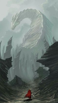 Desolate dragon