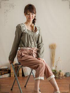 More mori girl fashion.