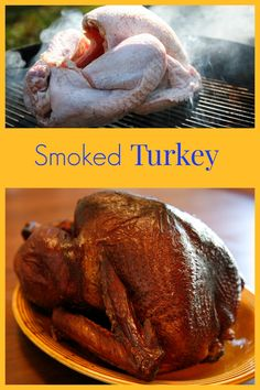 Smoked turkey is so much more flavorful than baked turkey!