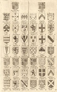 Wenzel Hollar.  This is a list of the original 26 members of the Order of the Garter plus the supernumerary knights.