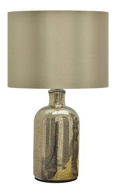 Amazon.com: Urban Shop Mecury Table Lamp, Gold: Toys & Games