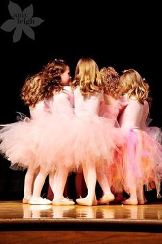 Pink Tutus and a pep talk