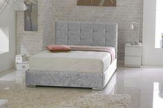 £149 Handmade Crushed Velvet Bed