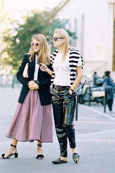 Paris Fashion Week SS 2017.....Monica + Camille