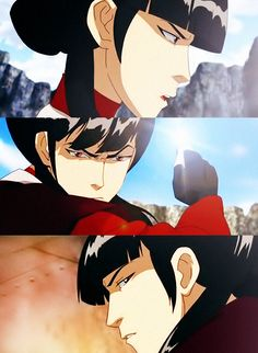 """Mai """"I guess you just don't know people as well as you think you do. You miscalculated. I love Zuko more than I fear you."""""""
