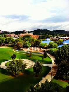 Come and play down by the river! Wonderful Chattanooga via Mary O'Donnell via Emma Lee