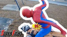 Spiderman vs Crazy Joker  vs Rocket Guardians of the Galaxy Real Life Ba...