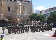365 civiles juraron este domingo bandera en la Plaza de España de Valdepeñas